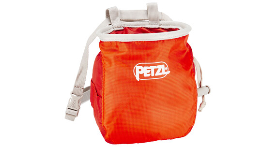Petzl Saka - Sac à magnésie - orange